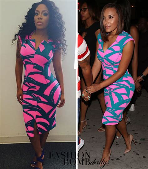 Who Wore It Better Pink Printed Patio Dress by Who Wore It Better Eudoxie Vs K In Kenzo S