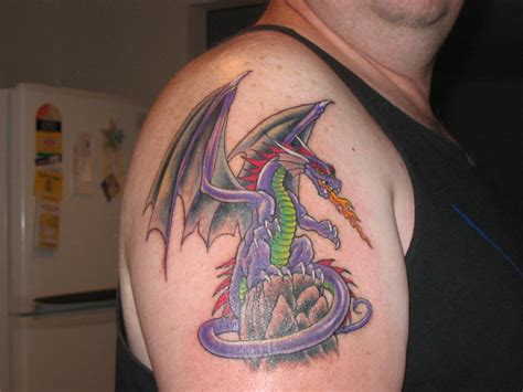 dragon tattoos for men shoulder designs for zentrader