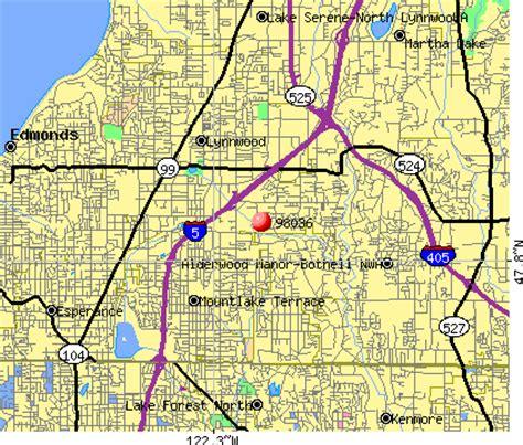 zip code map edmonds wa lynnwood wa zip code map my blog