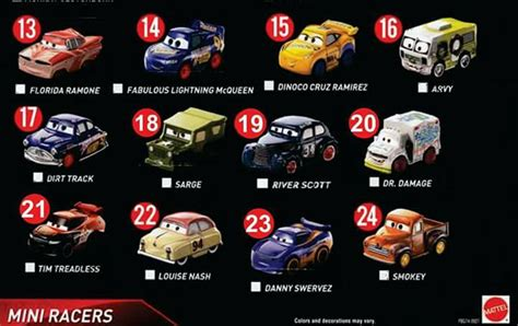 Mini 3 Sekarang jual mattel cars 3 mini racer no 13 24 di lapak soulmerchant ferlianto695