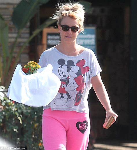 Britneys Wears Pink by Wears Mickey And Minnie T Shirt With