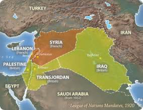 Dissolution Of The Ottoman Empire Lost Islamic History How The Divided Up The Arab World