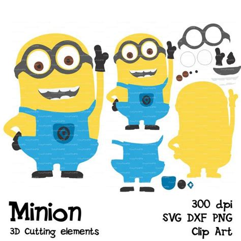 Minion Cricut Image