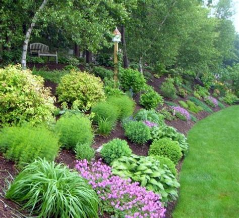 hill landscaping ideas backyard hill landscaping ideas gardening ideas for slopes