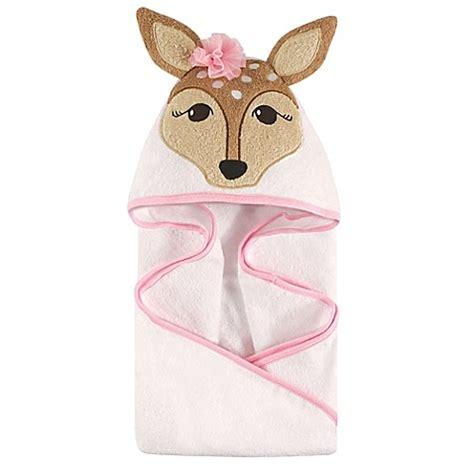 Palmerhaus Baby Towel Pink buy hudson baby 174 fawn hooded towel in pink from bed bath beyond