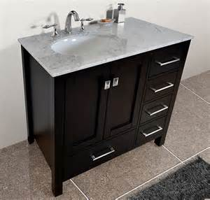 bathroom vanities with offset sinks a simple way to avoid