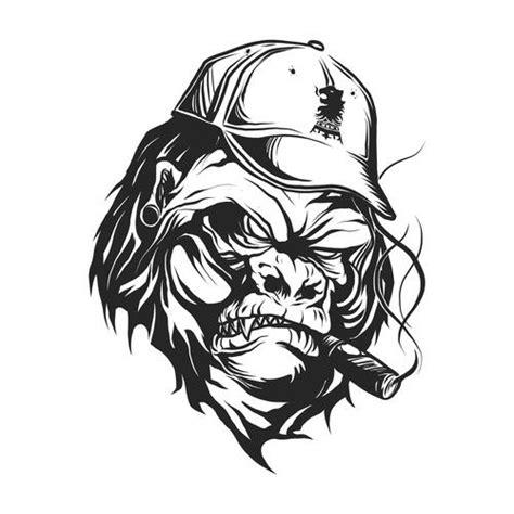 gorilla tattoo tribal gorilla characters design gorilla