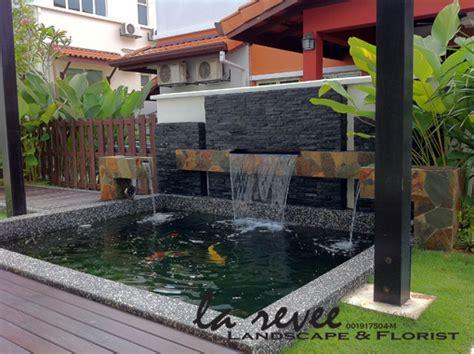 Patio Design In Malaysia Professional Koi Pond And Landscape Contractor