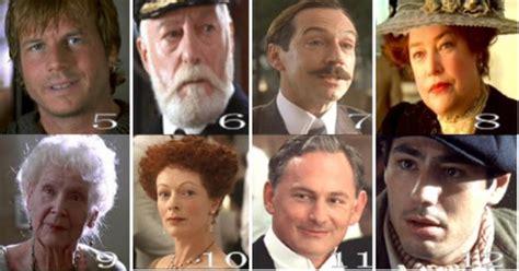 film titanic quiz titanic movie cast characters pictured from titanic quiz