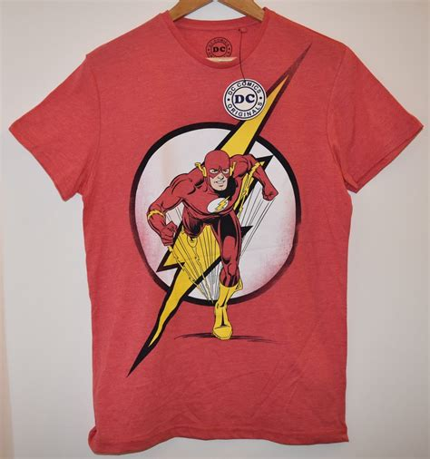 Buy A Rnd T Shirt To Support Comic Relief by Primark The Flash Mens T Shirt Official Dc Comics