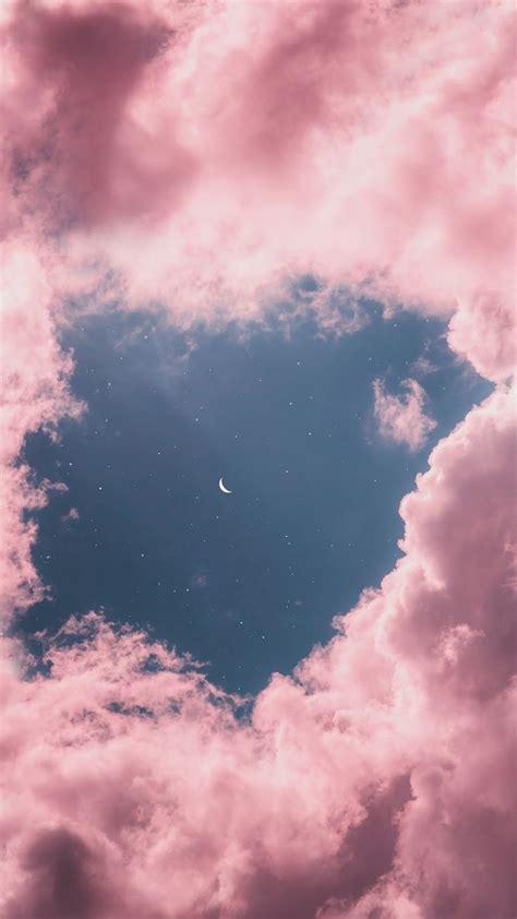 moon aesthetic wallpaper unique iphone wallpaper pink