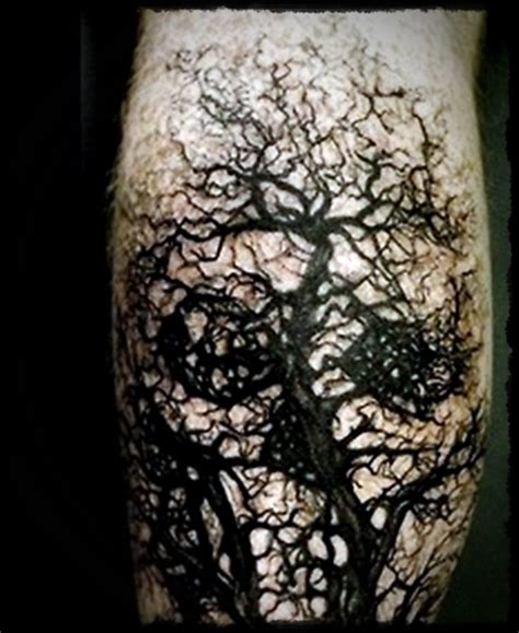 halloween body tattoo designs 35