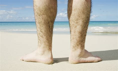 losing leg hair on men why do humans have body hair howstuffworks