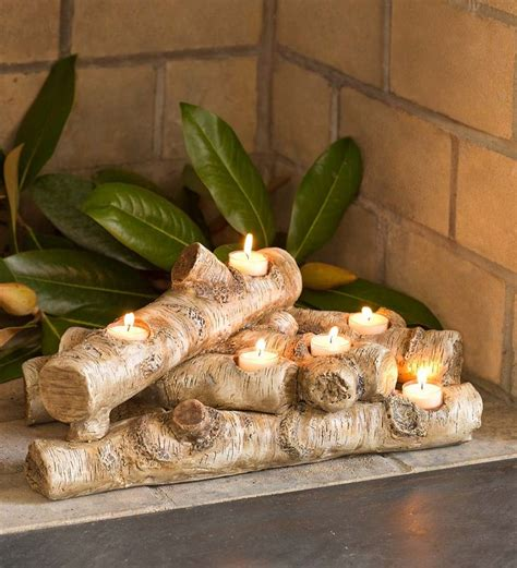 1000 ideas about log candle holders on pinterest candle holders wood candle holders and candles