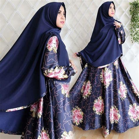 Gamis Trisia Tanpa Jilbab Bhn Baguss jual beli gamis set satin silk baru jual beli gaun