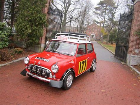 sell used 1973 mini cooper rally car replica in providence