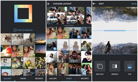 layout android instagram instagram s popular layout collage app now available on