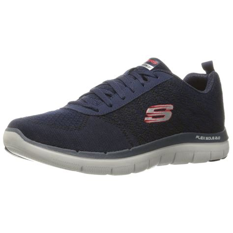 mens athletic shoe skechers flex advantage 2 0 golden point mens athletic shoes