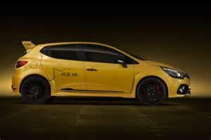 Renault Clio Renault Clio R S 16 Concept Gets Megane 275 Engine