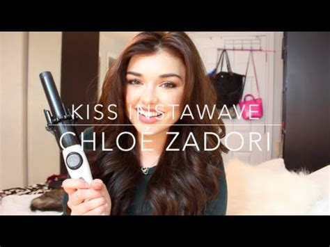 kiss instawave tutorial review and tutorial kiss instawave automatic curling iron