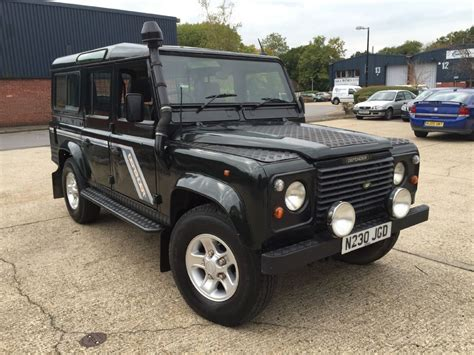 used land rover defender 110 county 300tdi for sale in
