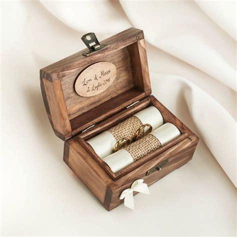 etsy eye 35 awesome wedding ring box ideas rustic wedding ideas wedding ring box