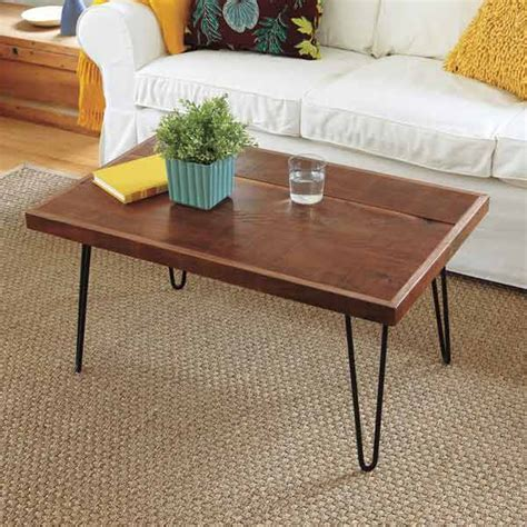 bedroom coffee table hairpin leg coffee table 27 ways to build your own
