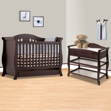 Convertible Cribs With Changing Table And Drawers Storkcraft Espresso Vittoria 3 In 1 Convertible Crib And Aspen Changing Table With Drawer 2