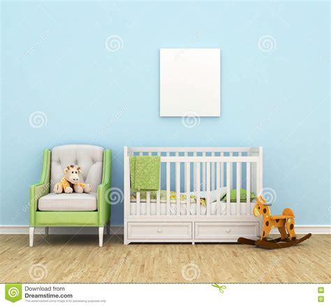 stocke bett kinderzimmer mit einem bett sofa spielwaren leer stock