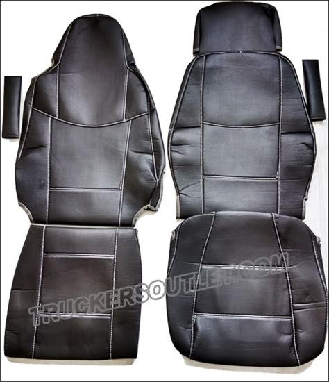 scania truck seat covers scania streamline leatherette seat covers www truckers