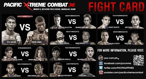 ufc card template world wide mma news pxc news update pxc 35 36 and 37