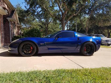 blue corvette 2007 lemans blue corvette for sale html autos weblog