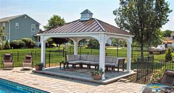 Backyard Sheds Kits Pavilions Outdoor Pavilions Horizon Structures