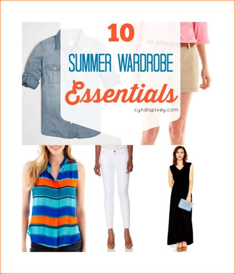 Essential Summer Wardrobe by 10 Summer Wardrobe Essentials Grace
