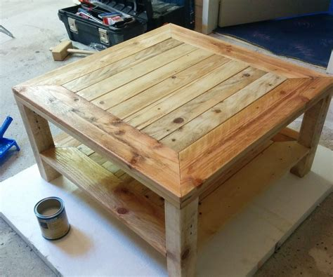 desk made from pallets pallet update 6 steps with pictures