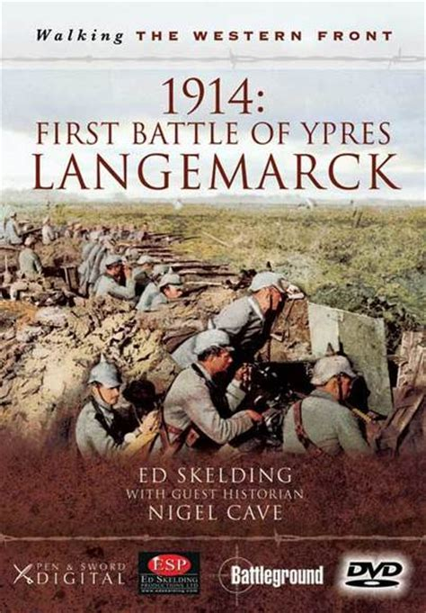 walking ypres battleground i books pen and sword books walking the western front 1914
