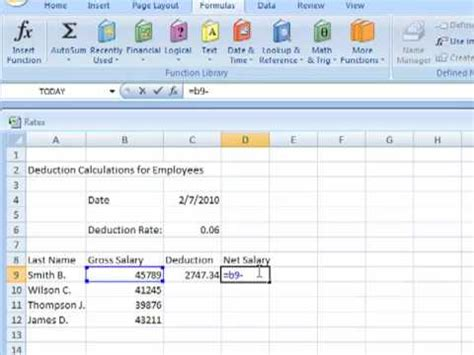 How To Create A Spreadsheet Using Excel Youtube How To Create A Template In Excel