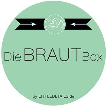 braut box die braut box von little details abo boxen de