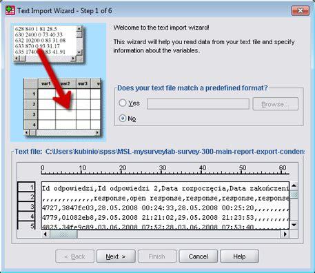 spss best tutorial import wynik 243 w ankiety do spss mysurveylab