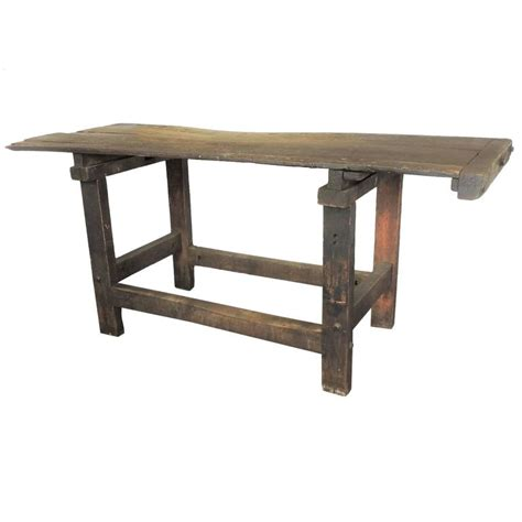 american work bench antique american industrial carpenters work table bench