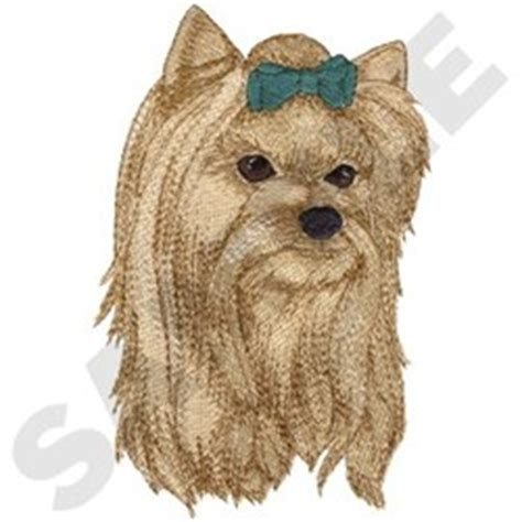 yorkie color change chart animals embroidery design yorkie from dakota collectibles
