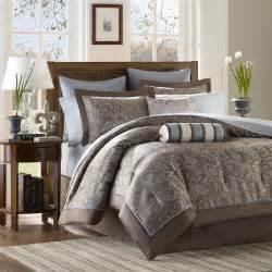 park jacquard comforter set size