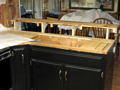 How To Install A Bar Top by Auction Vintage Replacing Kitchen Countertops