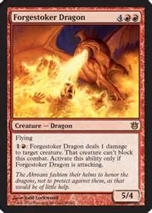 magic the gathering drachen deck mtg deck magic the gathering forgestoker ember