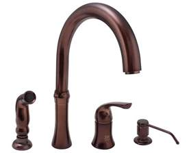 kitchen faucets 4 710 orb rubbed bronze 4 kitchen faucet