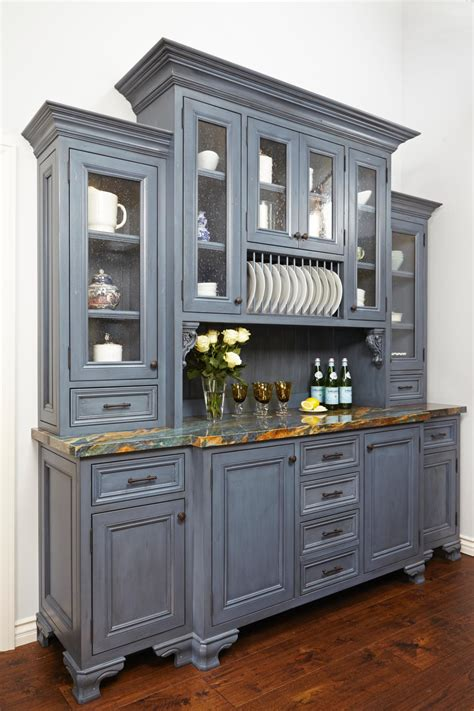 kitchen cabinet with hutch photos hgtv