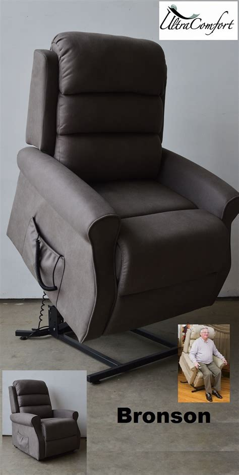 bronson lift chair recliner electric motor grey fabric