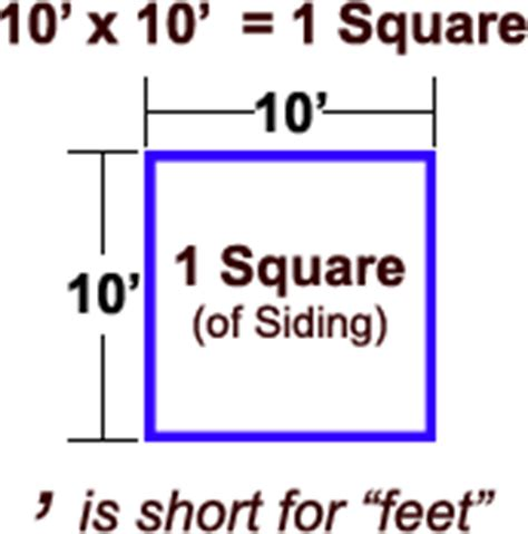 how many square is a 10 by 10 room siding squares calculator square footage org