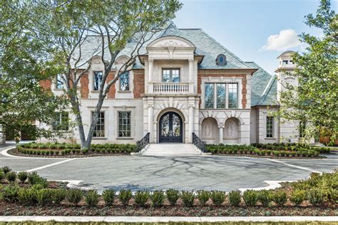 mansions in dallas 19 000 square foot french inspired new build in dallas tx