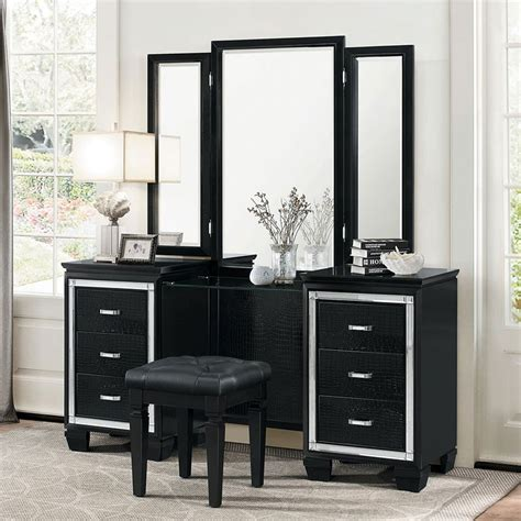 Dresser Vanity Bedroom by Black Vanity Dresser With Mirror Bestdressers 2017